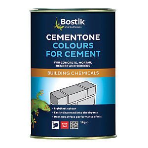 Bostik Cementone Cement & Mortar Dye - Red 1kg