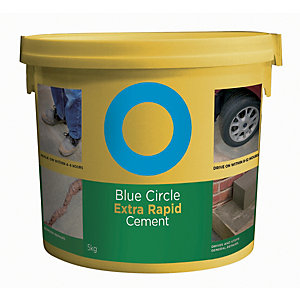 Blue Circle Extra Rapid Setting Cement - 5kg