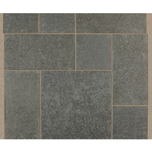 Marshalls Granite Eclipse Textured Graphite 600 x 600 x 25mm Paving Slab - Pack of 50