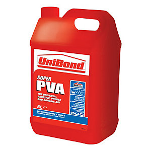 UniBond Super PVA Glue - 5L