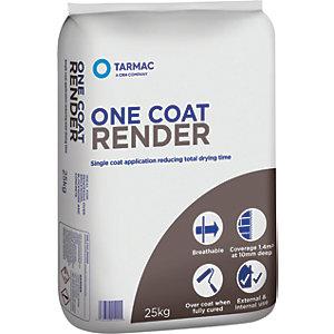 Tarmac Pre Mixed One Coat Render - 25kg