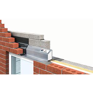 IG Ltd 75-90mm Steel Cavity Wall Lintel - 1500mm