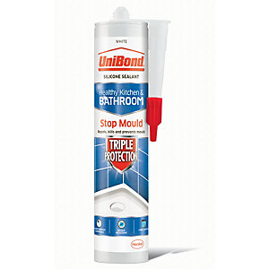 UniBond Triple Protect Anti Mould Sealant - White 300ml