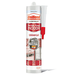 UniBond Universal Silicone Sealant - Clear 300ml