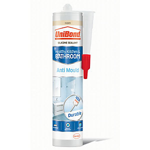 UniBond Anti-Mould Silicone Sealant - Ivory 300ml