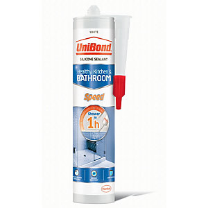 UniBond Speed Anti Mould Sealant - White 300ml