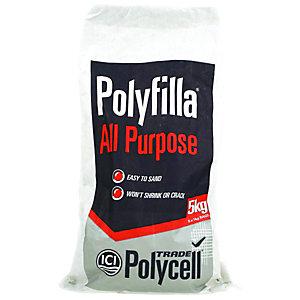 Polycell Polyfilla All Purpose Trade Powder Filler - 5kg