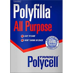 Polycell Polyfilla All Purpose Trade Powder Filler - 2kg