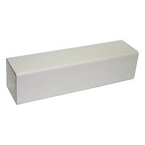 FloPlast RPS2.5W Square Line Downpipe -  White 65mm x 2.5m