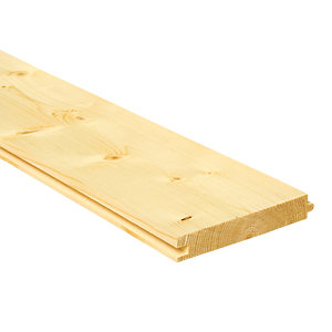 Wickes PTG Timber Floorboards - 18mm x 119mm x 2400mm