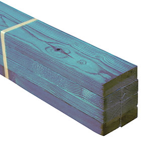 Wickes Treated Roof Batten 25 x 50mm x 3.6m Pack 8