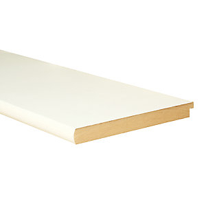 Wickes Bullnose Primed MDF Window Board - 22mm x 219mm x 2.1m