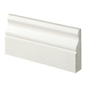 Wickes Ogee Fully Finished Architrave - 18mm x 69mm x 2.1m Pack of 5