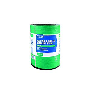 Wickes Roofing Shingles Detailing Strip - Green 7.5 x 0.3m