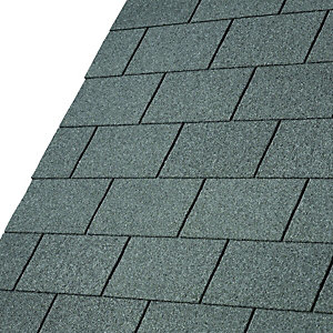 IKO Armourglass Slate Grey Square Shingles 3m2 Pack of 21