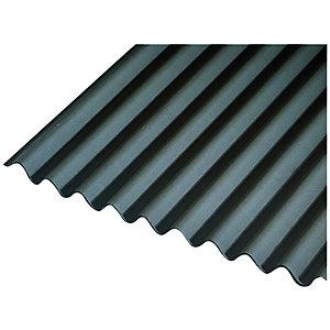 Onduline 3mm Black Corrugated Bitumen Sheet 950 x 2000mm
