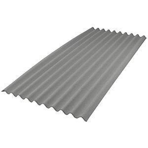 Onduline Intensive Grey Corrugated Bitumen Sheet - 950mm x 2m