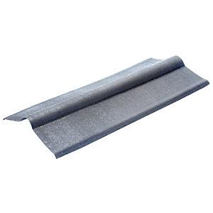 Onduline Intensive Grey Ridge Piece for Bitumen Sheet - 485mm x 1m