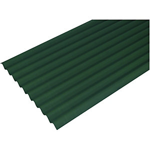 Onduline 3mm Green Corrugated Bitumen Sheet 950 x 2000mm