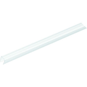 Wickes Clear End Closure for 10mm Polycarbonate Sheets - 2.1m