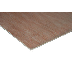 Wickes Non Structural Hardwood Plywood - 5.5mm x 606mm x 1220mm