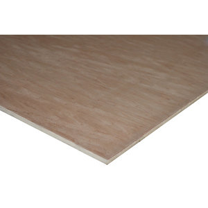 Wickes Non Structural Hardwood Plywood - 9mm x 1220mm x 2440mm