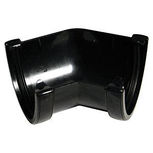 FloPlast RAH2B High Capacity Gutter 135 Deg Bend - Black