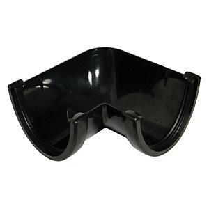FloPlast RAH1B High Capacity Gutter 90 Deg Angle - Black