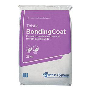 British Gypsum Thistle Bonding Coat Plaster - 25kg