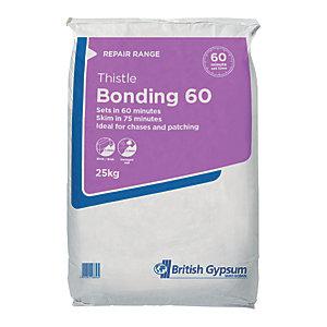 British Gypsum Thistle Bonding Coat Plaster 60 - 25kg