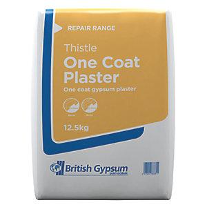 British Gypsum Thistle One Coat Plaster - 12.5kg