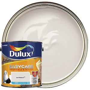Dulux Easycare Washable & Tough Matt Emulsion Paint - Just Walnut 2.5L