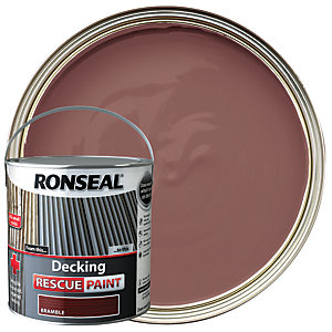 Ronseal Rescue Decking Paint - Bramble 2.5L
