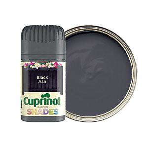 Cuprinol Garden Shades Matt Wood Treatment Tester Pot - Black Ash 50ml
