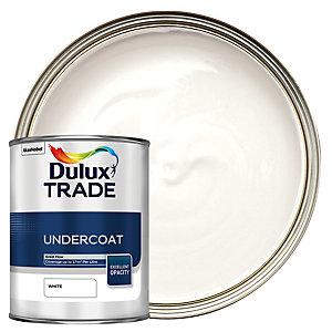 Dulux Trade Undercoat Paint - White 1L