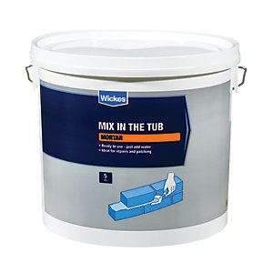 Wickes Mix in the Tub Mortar Mix - 5kg