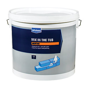 Wickes Mix in   the Tub Mortar - 10kg
