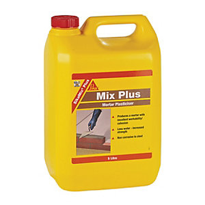 Sika Mix Plus Mortar Plasticiser - 5L