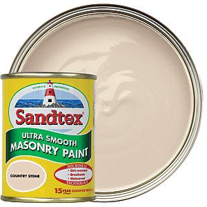 Sandtex Ultra Smooth Masonry Paint - Country Stone 150ml