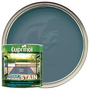 Cuprinol Anti-Slip Decking Stain - Urban Slate 2.5L
