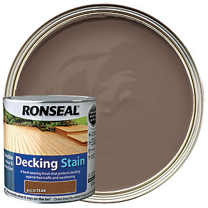 Ronseal Decking Stain - Rich Teak 2.5L