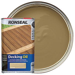 Ronseal Decking Oil - Natural 5L