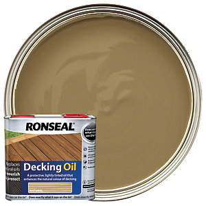 Ronseal Decking Oil - Natural 2.5L