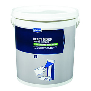 Wickes Ready Mixed Plasterboard Jointing Compound - 10kg