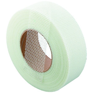 Wickes Fibreglass Plasterboard Repair & Jointing Tape - 90m