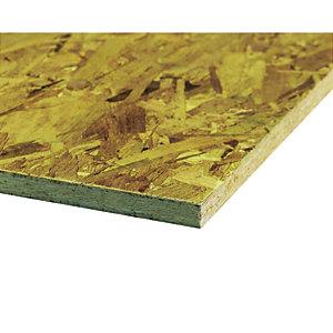 Wickes General Purpose OSB 3 Board - 18mm x 606mm x 1829mm