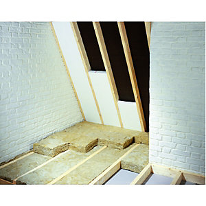 Wickes 60mm Polystyrene Rafter Insulation Board 0.74 M2 Pack of 3