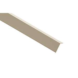 Wickes PVC Angle Moulding - 18mm x 18mm x 2.4m