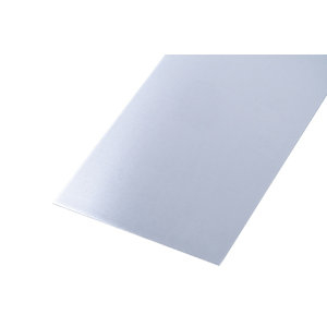 Wickes Metal Sheet Plain Uncoated Aluminium 250 x 500mm x 0.8mm