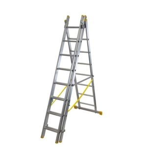 Werner ExtensionPLUS™ X4 23 tread Combination ladder with stair function